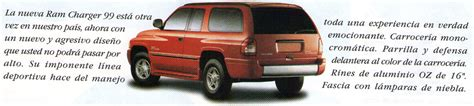 Four Wheel Drive Magazine Prueba Dodge Ramcharger