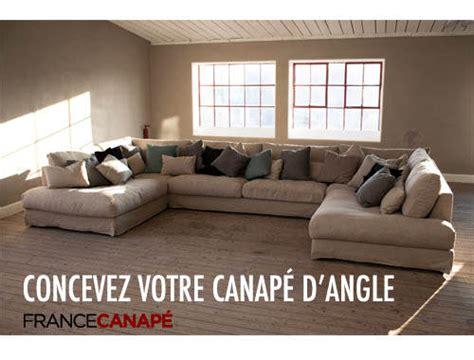 grand canapé d angle en u un canapé en u design pour votre salon canapé