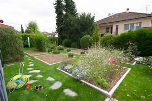 Bordure Pour Jardin Potager. cr er une bordure en planches au ...