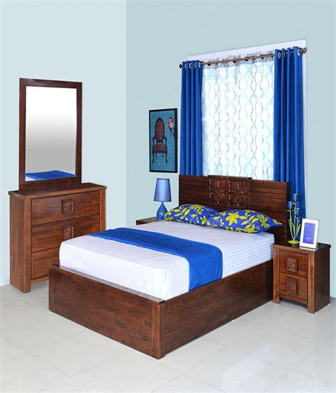 athome monalisa solid wood king size bedroom set buy