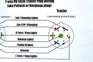 7 Pin Trailer Connector Wiring Diagram For F350