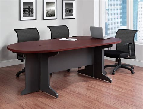 Ameriwood Furniture Pursuit Small Conference Table Cherry