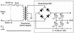 25v Capacitor Bank For Ocl Amplifier