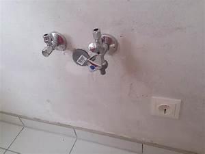 Wasserhahn Aus Der Wand : wie geht das mit dem wasserhahn und sp lmaschinenanschluss k che spuelmaschine montage ~ Markanthonyermac.com Haus und Dekorationen