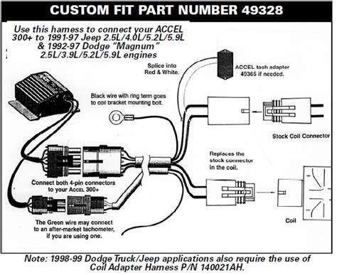 how to install a accel performance tach adapter your 1984 1995 mustang americanmuscle