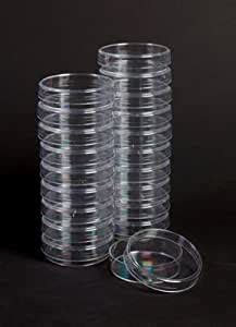 amazoncom plastic petri dishes    case