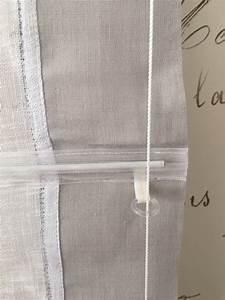 Store Bateau Sur Mesure : store bateau sur mesure lin industriel gris clair le ~ Dailycaller-alerts.com Idées de Décoration