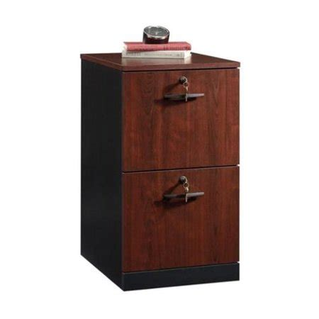 Sauder 2 Drawer File Cabinet by Sauder Via 2 Drawer File Cabinet In Classic Cherry