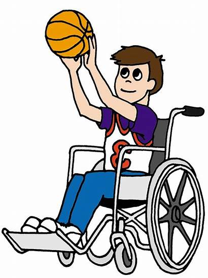 Wheelchair Basketball Clipart Graphic Miracle League Player