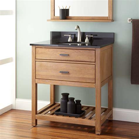 30 Toby Vanity For Undermount Sink Oak Wood Vanities
