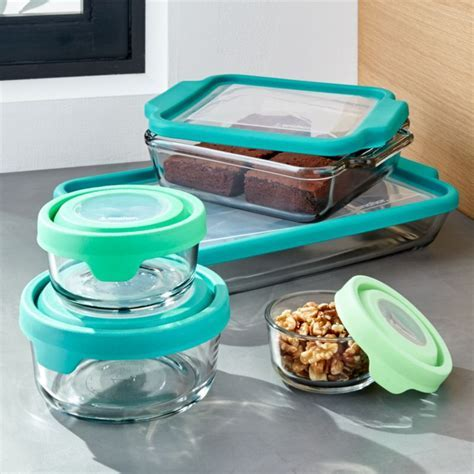 Anchor Hocking TrueFit 10 Piece Glass Bakeware Set
