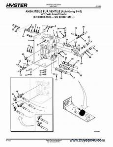 Hyster Challenger  E008  Forklift Pdf Parts Manual Only Gr