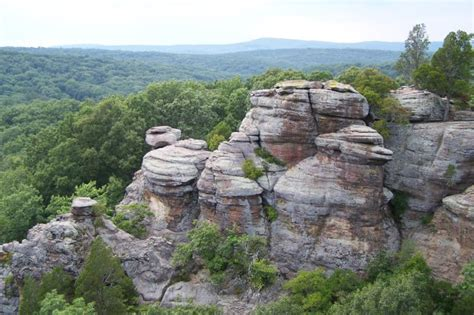 garden of the gods illinois hiking trail information for the shawnee national forest