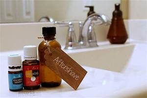 Natural Aftershave Essential Oil Recipe