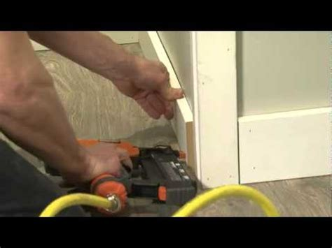 how to install baseboard mouldings