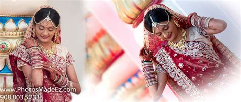Indian Bride Getting Ready.gujarati Wedding At The Royal Alberts Palace, Nj Album Designed By