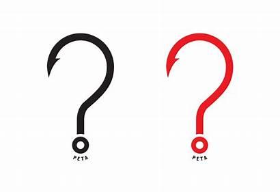 Hook Question Fish Graphis Peta Enlarged Credits