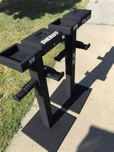 Police Gear Caddy Stand