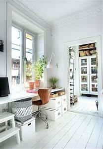50 stylish scandinavian home office designs digsdigs With home office interior design inspiration