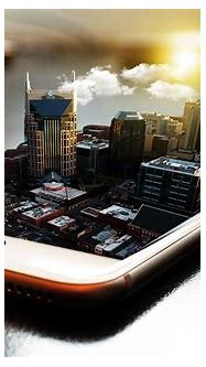 A Cool 3d Effect I Created of Nashville : PhotoshopTutorials