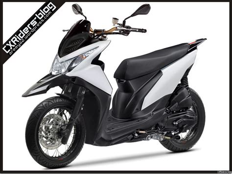 Modifikasi Beat Fi by Konsep Modifikasi Honda Beat Fi Matic Motard D
