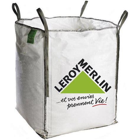 leroy merlin poubelle cuisine sac à gravats big bag 1m3 leroy merlin