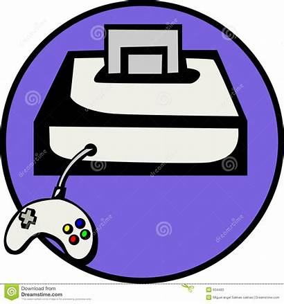Console Clipart Vector Videogame Cartridge Control Clipground