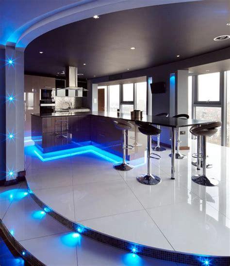 led lighting  interior home designs bar model
