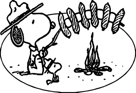 camping coloring page playing outside coloring pages