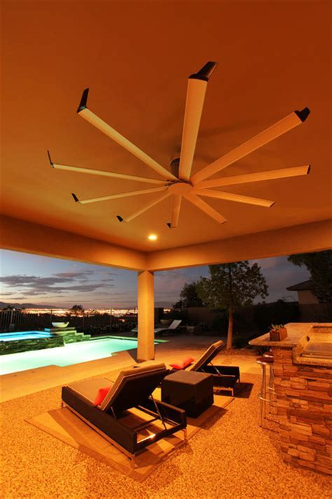 Isis Ceiling Fan   Contemporary   Patio   louisville   by