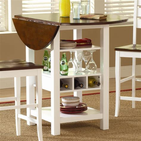 drop leaf tables  small spaces homesfeed