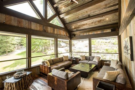 Design Sunroom by Timeless 30 Cozy And Creative Rustic Sunrooms