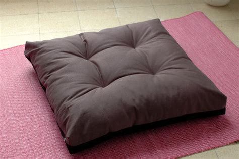 Meditation Bench Cushion by Zabuton Large Square Floor Pillow For Zazen Zen