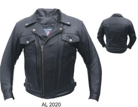 vented motorcycle jacket mens black vented leather motorcycle biker jacket