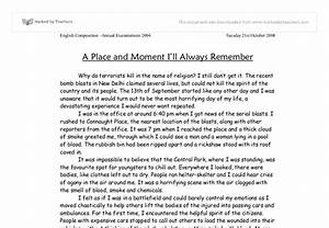 Essays on One Of The most Memorable moments In my life