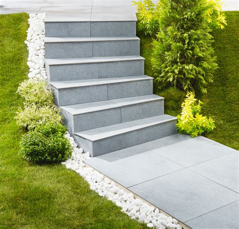 escalier exterieur modulesca habillage dalle escalier