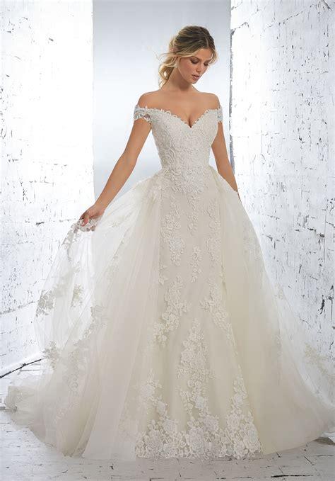 luciana wedding dress style  morilee