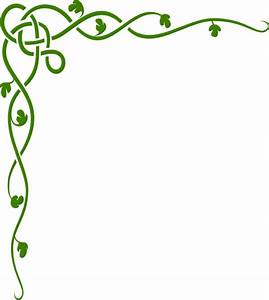 Green celtic vine clip art at clkercom vector clip art ...