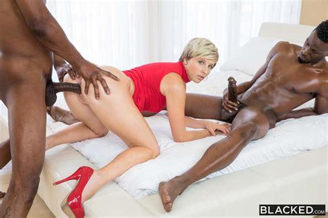 Makenna Blue Interracial Threesome