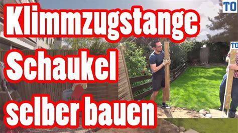 Schaukel An Holzbalken Befestigen by Schaukel Selber Bauen Klimmzugstange Selber Bauen