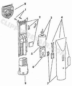 Wahl Trimmer Parts Diagram