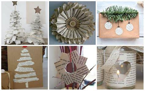 diy winter dekoration ideen aus zeitungen nettetippsde