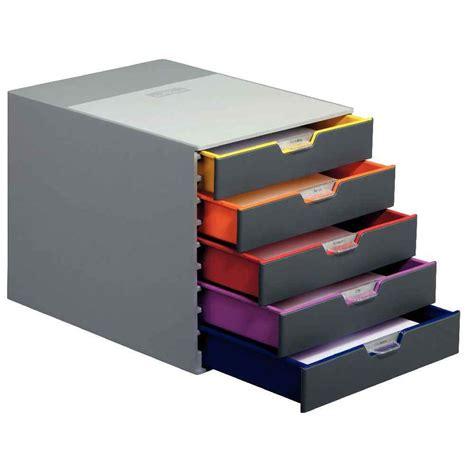 module de classement bureau module de 5 tiroirs classement varicolor durable vente de modules 224 tiroirs a4 kwebox