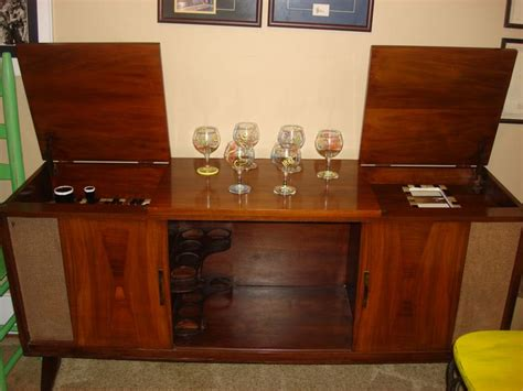 vintage stereo cabinet repurposed a 1960 39 s console stereo re purposed into a bar visit me