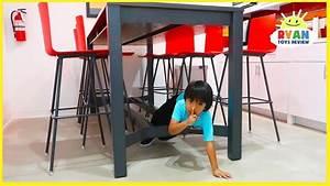 Ryan plays Hide and Seek in the Office!!!! - YouTube