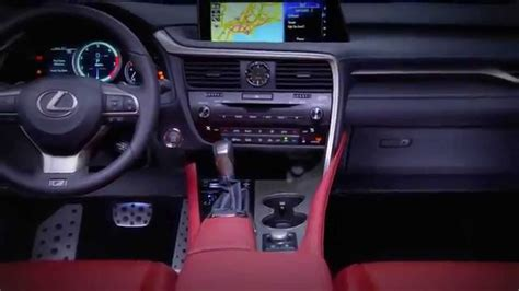 lexus rx red interior lexus rx interior 2016 wallpaper 1280x720 16269