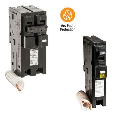 Square Homeline Amp Single Pole Combination Arc Fault