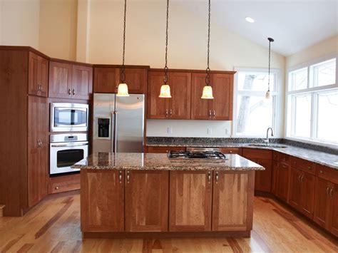 Light Cherry Kitchen Cabinets  Home Furniture Design