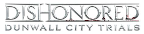 Dishonored Dunwall City Trials Logo