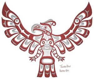 Native American Indian Thunderbird Design